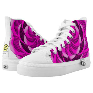 Pink Rose High Tops