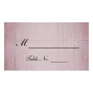 Pink Rose Hummingbird Wedding Place Cards Business Card Template
