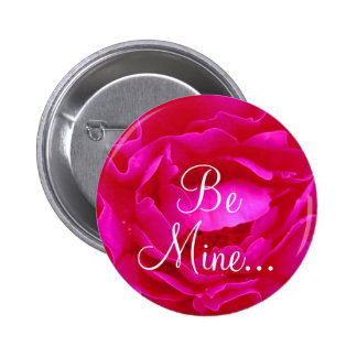 Pink Rose II Button Buttons