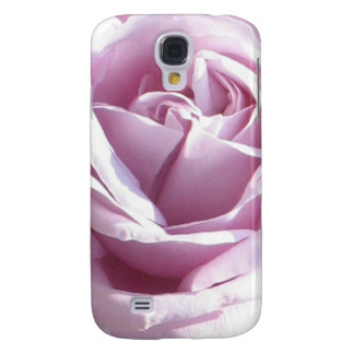 Pink rose macro photography galaxy s4 case