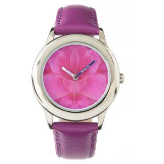 Pink Rose Mandala Watch