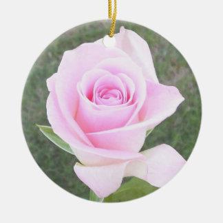 Pink Rose Memorial Ornament-2 Christmas Ornament