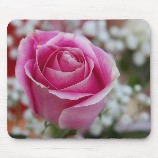 Pink Rose Mouse Mat