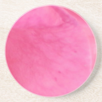 Pink Rose Petal Art  -  Theme Decorations Drink Coasters