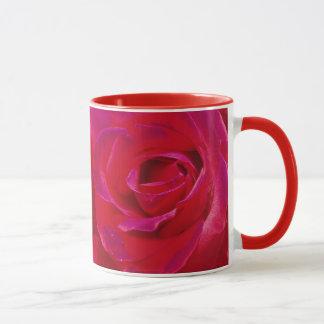 Pink Rose Petals Mug