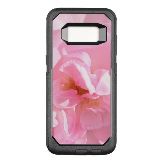 pink rose petals OtterBox commuter samsung galaxy s8