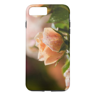 Pink rose photo case