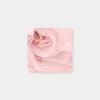 Pink Rose Post It Notes