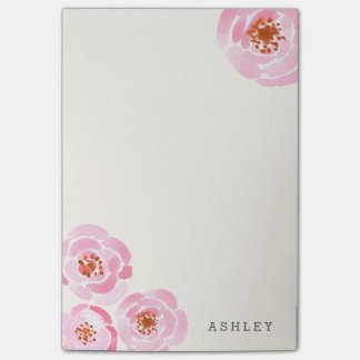 Pink Rose Print Post-It Post-it® Notes