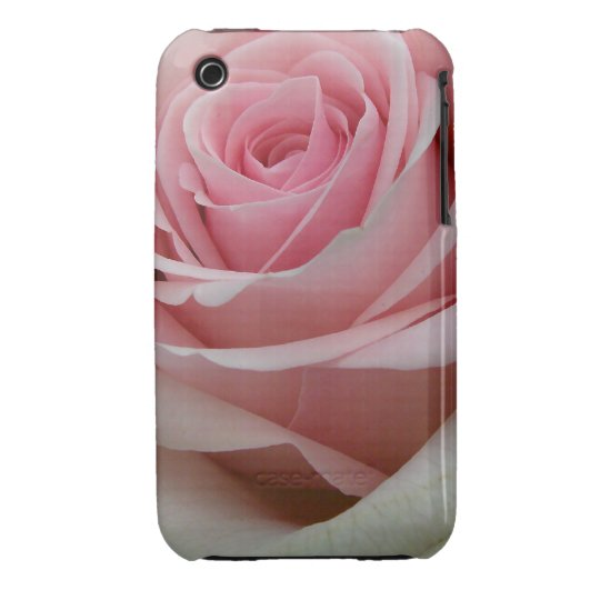 Pink Rose, Romantic iPhone 3G/3GS Case