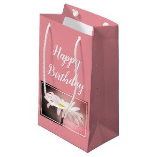 Pink Rose Small Gift Bag