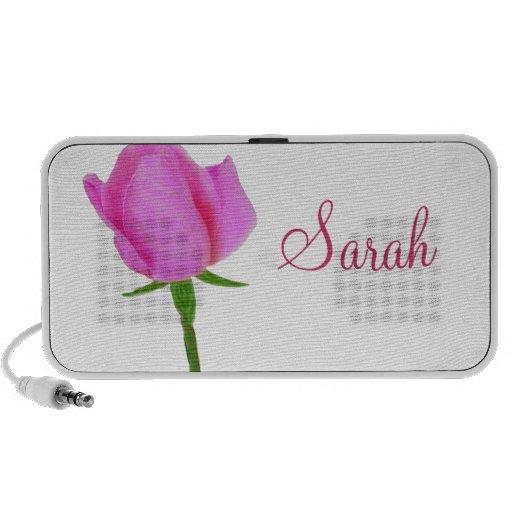 Pink Rose Mini Speaker