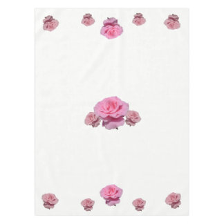 Pink Rose Tablecloth