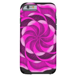Pink Rose Tough iPhone 6 Case