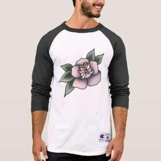 pink rose traditional T-Shirt