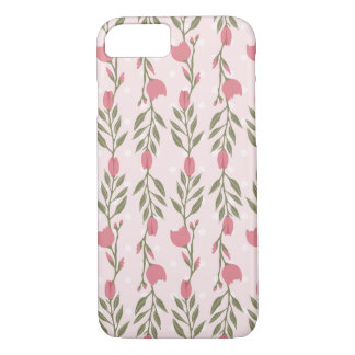 Pink Rose Vine iPhone 7 Case