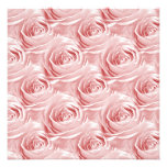 Pink Rose Wallpaper Pattern Personalized Announcement