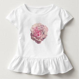 Pink Rose Watercolor Illustration Toddler T-Shirt