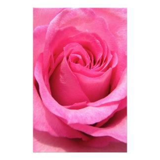 Pink Rose Wedding Photo Full Color Flyer