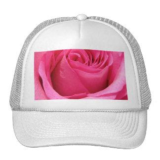Pink Rose Wedding Photo Mesh Hats
