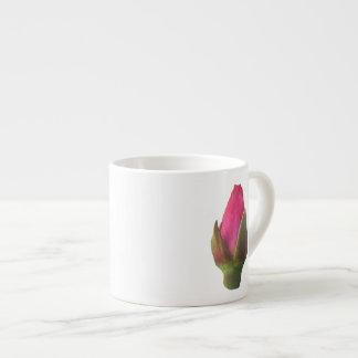 Pink Rosebud Espresso Mug