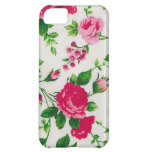 pink roses and rose buds cover for iPhone 5C