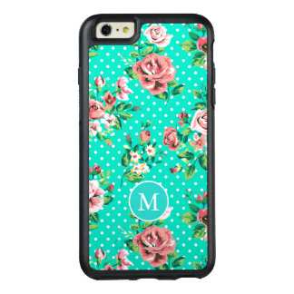 Pink Roses And White Dots OtterBox iPhone 6/6s Plus Case