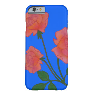 Pink Roses Barely There iPhone 6 Case