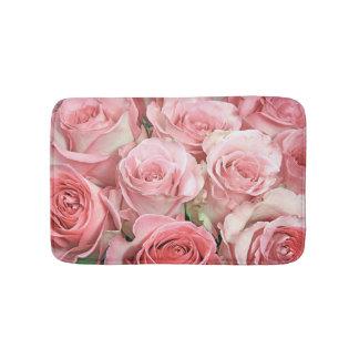Pink Roses Bath Mat Bath Mats