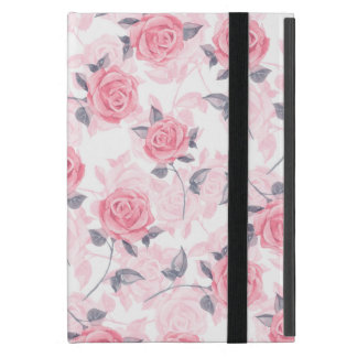 Pink roses case for iPad mini