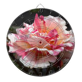 pink roses dartboard