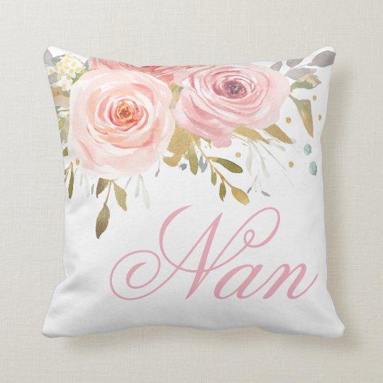 Roses floral nan cushion