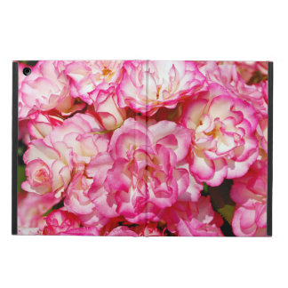 Pink roses floral print ipad air case