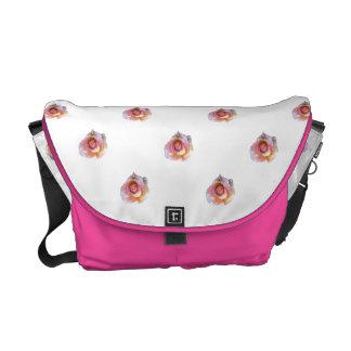 Pink Roses Messenger Bag