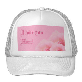 Pink Roses Mother's Day Cap