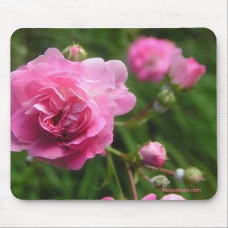 Pink Roses Mousepad