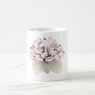 Pink Roses ~ Basic White Mug
