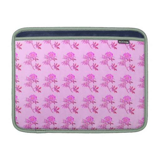 Pink Roses pattern MacBook Air Sleeve