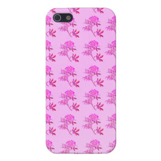 Pink Roses pattern Cover For iPhone 5
