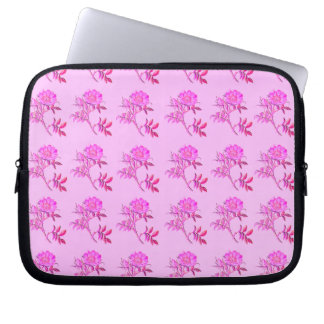 Pink Roses pattern Computer Sleeves