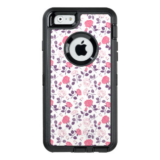 Pink roses pattern Otterbox iphone case