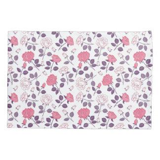 Pink roses pattern Pillowcase