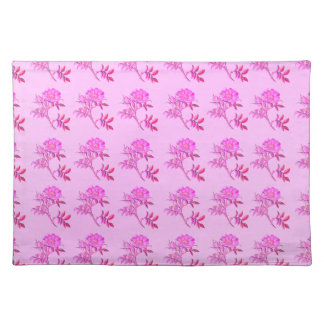 Pink Roses pattern Place Mat