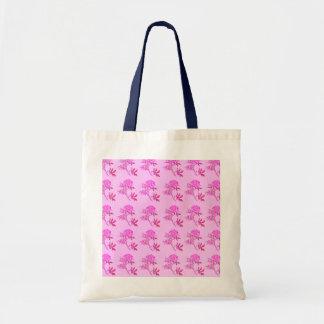 Pink Roses pattern Bags