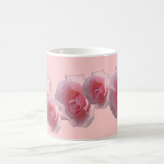 Pink Roses single or a bouquet Coffee Mug