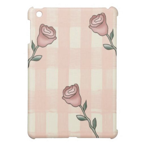 Pink Roses Speck® Fitted™Hard Shell iPad Case