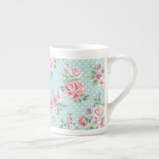 Pink Roses Tea Mug