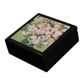 Pink Roses Van Gogh Fine Art Gift Box