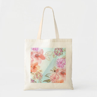 Pink Roses Watercolour Graphic Tote