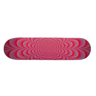 Pink Rosette Skateboard